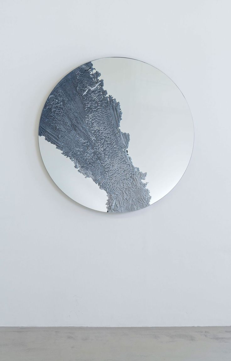 F/Ms studio is interested in sculptural objects and conceptual design that meticulously merge indoors and out, raw and polished, high quality and industrial design. The studio's Drift mirror