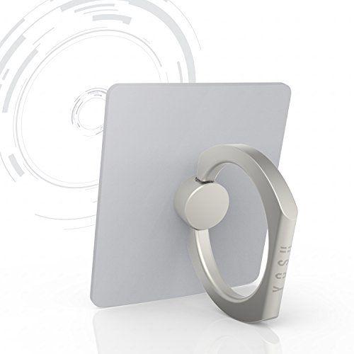 Anneau de Téléphone GARANTIE À VIE Universel YOSH Support Métal 360 degrés de rotation pour Smartphone iPhone 7 6s plus, 5 s, iPad, Samsung…