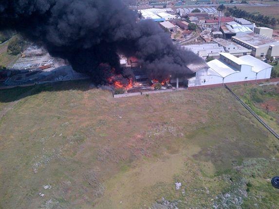Fire at East Rand plastics factory | News24