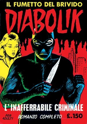 Diabolik 02 - L'inafferrabile criminale