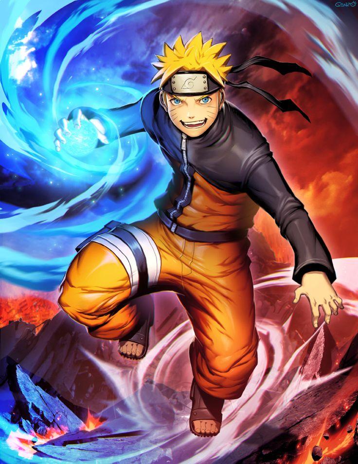 Naruto Uzumaki by GENZOMAN.deviantart.com on @DeviantArt