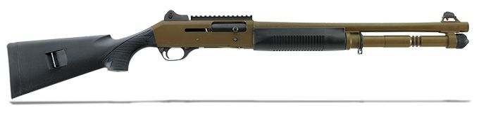 Benelli M4 12GA Tactical Dark Earth 11792 For sale! For best price call 570-368-3920.