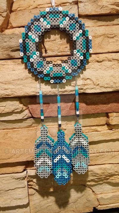 162 best images about dreamcatcher perler beads on for Dreamcatcher beads meaning