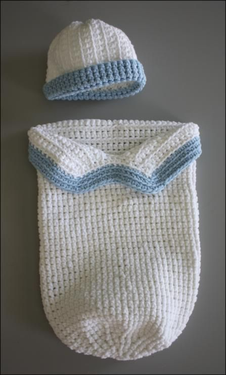Baby Cocoon - Crocheted