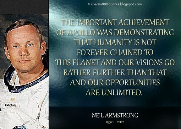 Neil Armstrong Quotes - Pics about space
