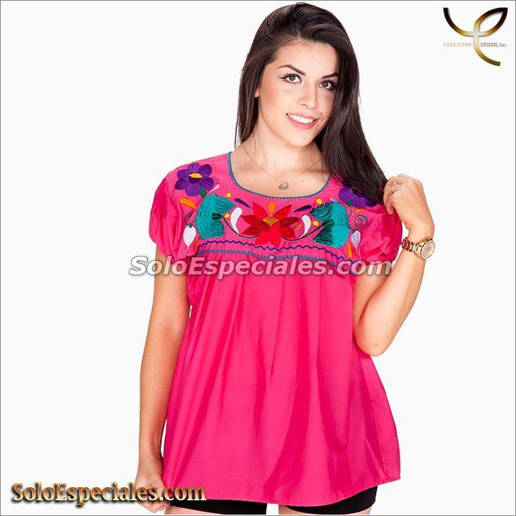 (MX-582002) 77106 Blusa Tipica Poblana - IMexico 2018, blusas a la moda, blusas a rayas, blusas a cuadros, blusas blancas, blusas bordadas a mano, blusas bonitas de moda, blusas blancas 2017#blusasmexicanas #blusasdemoda #blusastejidas #blusasbordadas #blusastipicas #blusasbonitas #blusasmexicanasmodernas #blusasconflores
