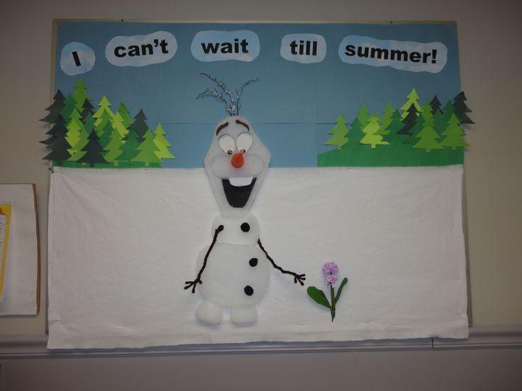 Frozen's Olaf 3D Bulletin Board