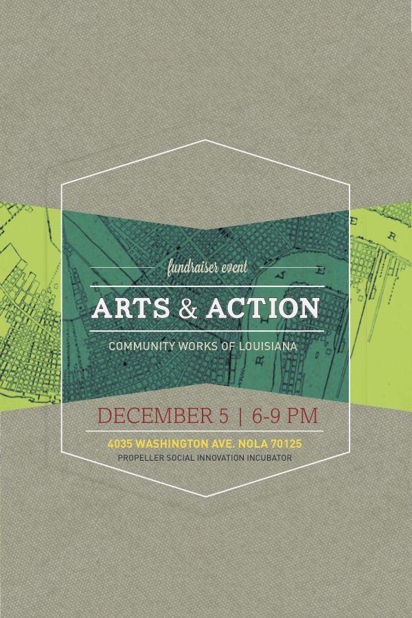 Community Works: Fundraiser Promo by Chase Chenevert, via Behance