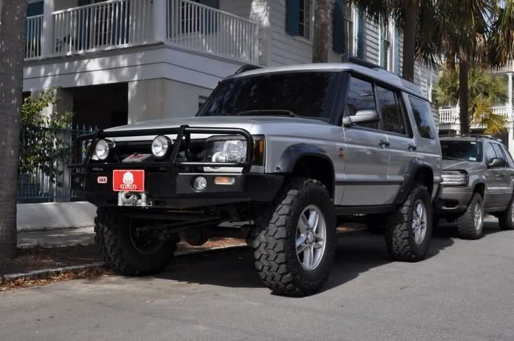 2004 Land Rover Discovery all set up -  3'' Inch Rover-Tym Lift= $1,600. New 35x12.50x18 Interco SSR Tires= $1,520. ARB Bumper with KC Lights= $1,395. Warn 8,000Lb Winch= $600. ...