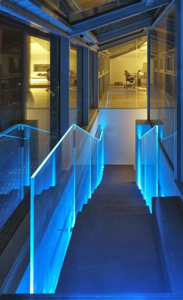 Glowing Balustrades