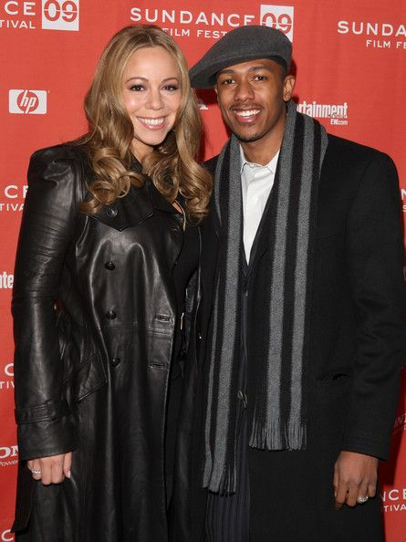 """Mariah Carey Photos - Actors Mariah Carey (L) and Nick Cannon attend the screening of """"Push: Based On The Novel By Sapphire"""" held at the Racquet Club Theatre during the 2009 Sundance Film Festival on January 16, 2009 in Park City, Utah.  (Photo by Jason Merritt/Getty Images) * Local Caption * Nick Cannon;Mariah Carey - """"Push"""" - 2009 Sundance Premiere"""