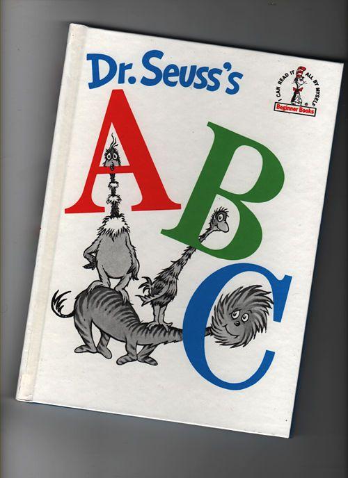 Dr. Seuss's ABC by Dr. Seuss (1960,1991 Ed.) Beginner #Books #art #kids #read