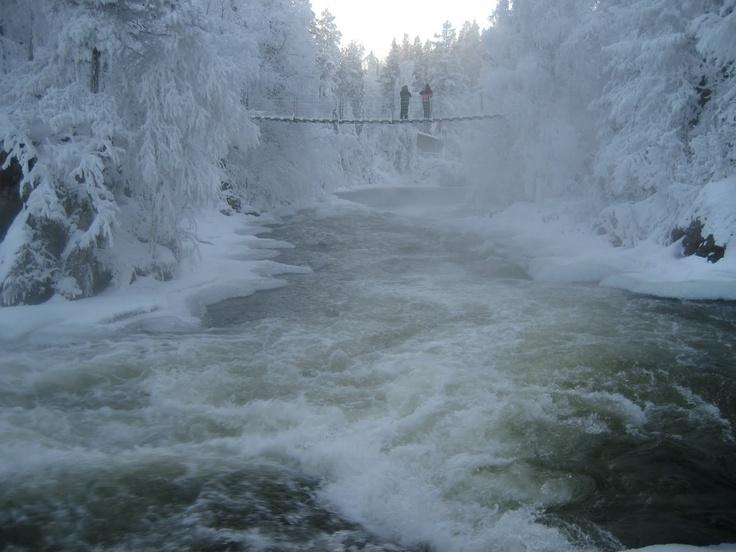 Oulanka National Park at Eastern Finland.