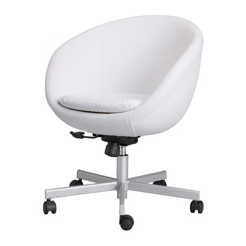 Best Ideas About White Office Chairs White Ikea Desk And