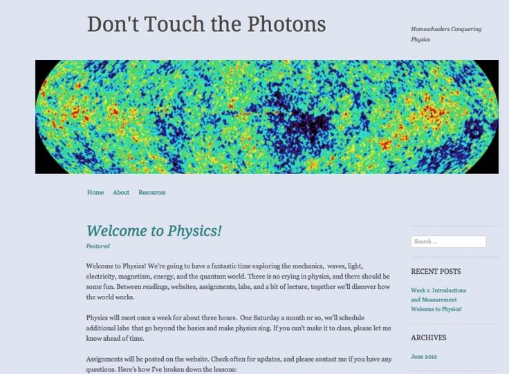 high school physics course