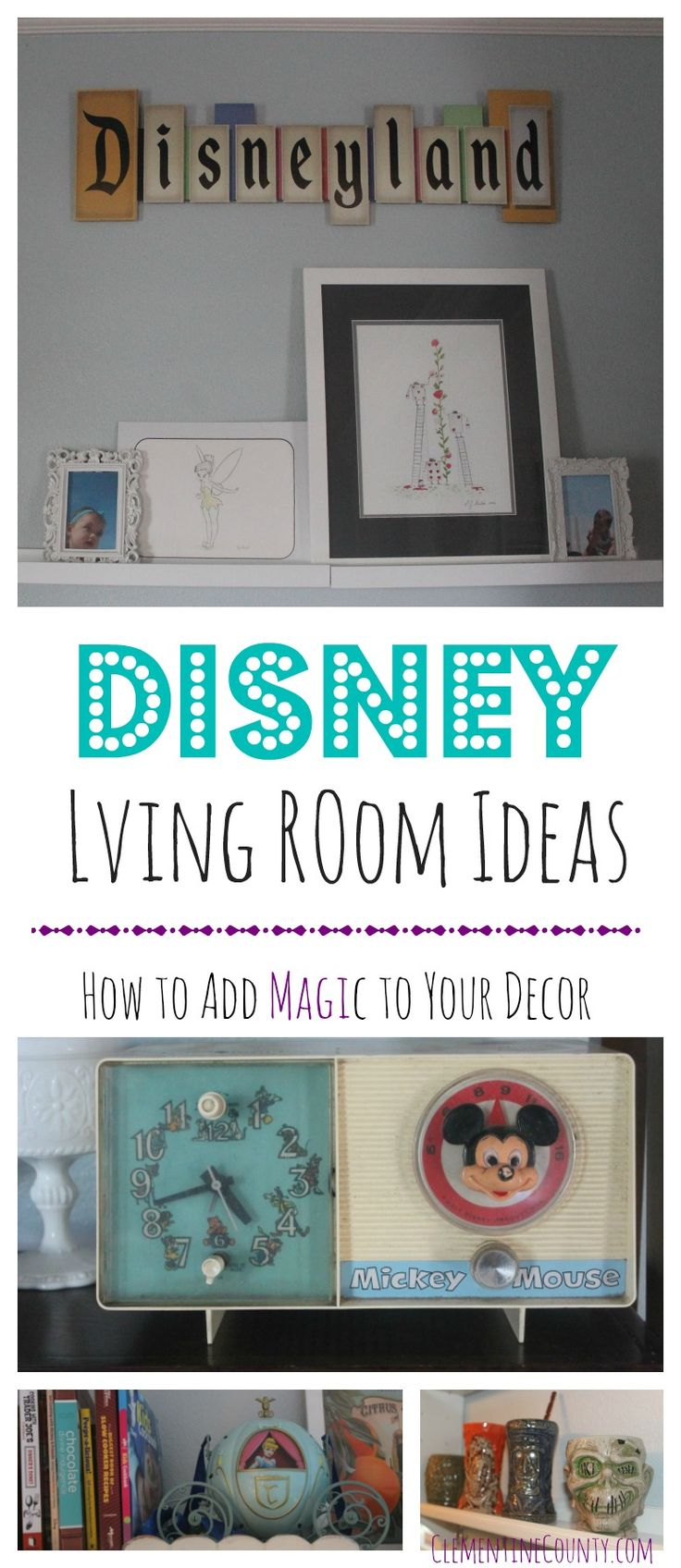 Disney Inspired Design Ideas | Clementine County