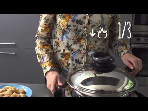 Chicken Nuggets: in 2 Min. // Crispy Chicken Nuggets: fried in 2 Minutes in AMC HotPan - YouTube