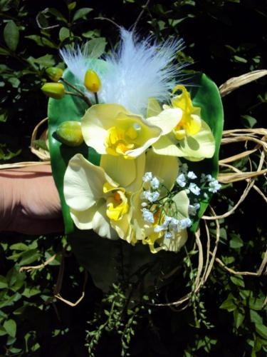 67 best book artifleurs fleurs artificielles images on pinterest artificial flowers bridal - Bouquet mariee orchidee ...