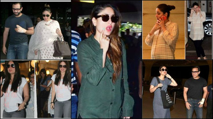 Kareena Kapoor Khan Spotted with Baby Bump