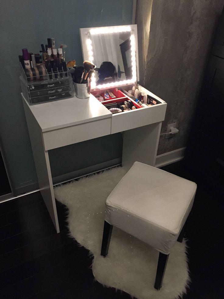 Best 25+ Ikea makeup vanity ideas on Pinterest | Vanity ...