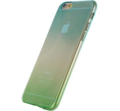 Gradual Rubber Case iPhone 6s Groen - 1