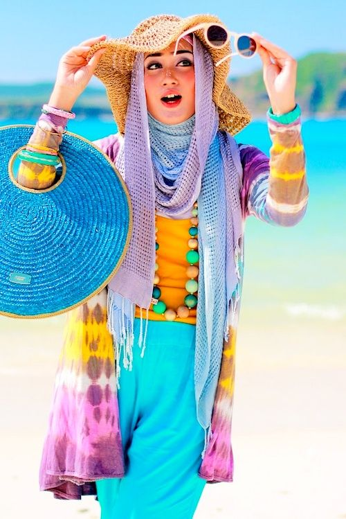 5 Hal yang Harus Dihindari Saat Ke Pantai oleh Hijabers