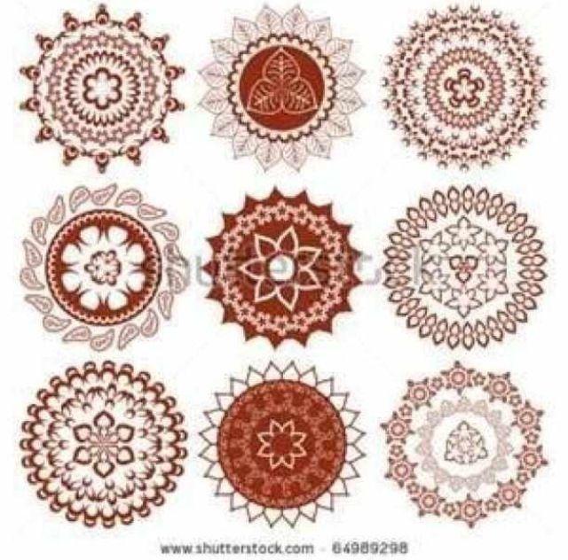 Mehndi Circle Meaning : Henna circle design tumblr pixshark images