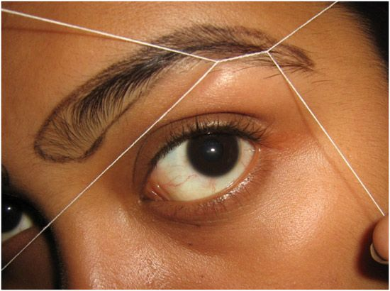 How To Do Eyebrow Threading At Home – DIY With Detailed ...