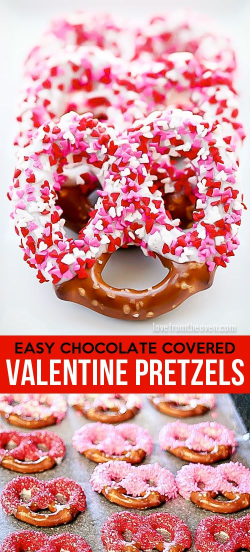Super easy chocolate covered pretzels. Such a great step by step guide, totally making these for Valentine's Day.