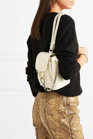 8336f7f5 Chloé - Faye mini quilted leather backpack | wishlist | Leather ...