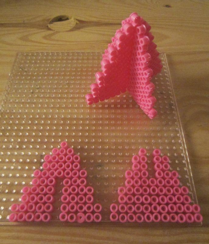 494 best mod les perles repasser images on pinterest hama beads perler beads and fuse beads - Modeles perles a repasser ...