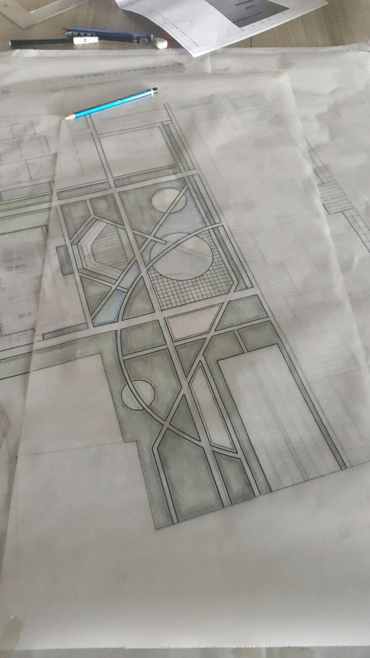 Landscape sketch - urban design