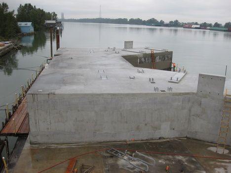 Swartz Bay Ferry Terminal Pontoon | International Marine Floatation Systems