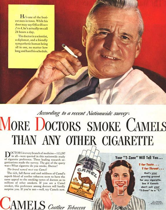 More Doctors Smoke Camels #2