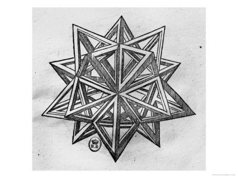 Dodecahedron, Leonardo da Vinci
