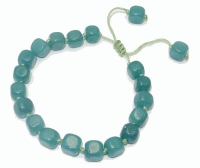 Lola Rose Jewellery - Sea Green Quartzite Cici Gemstone Bead Bracelet £20