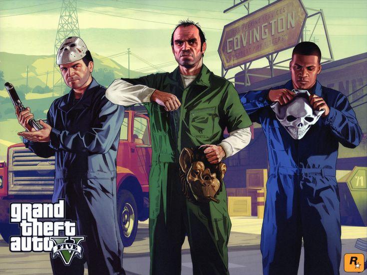 GTA 5: The Trio