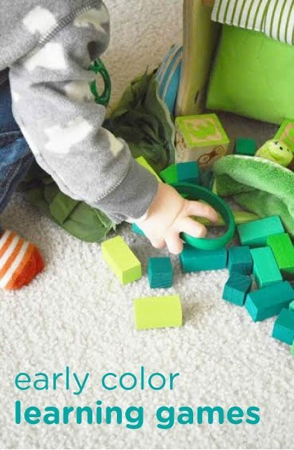 Color learning games can be a fun and educational activity to do with your baby or toddler. This colorful kids activity can help give your little one a head start on their learning.