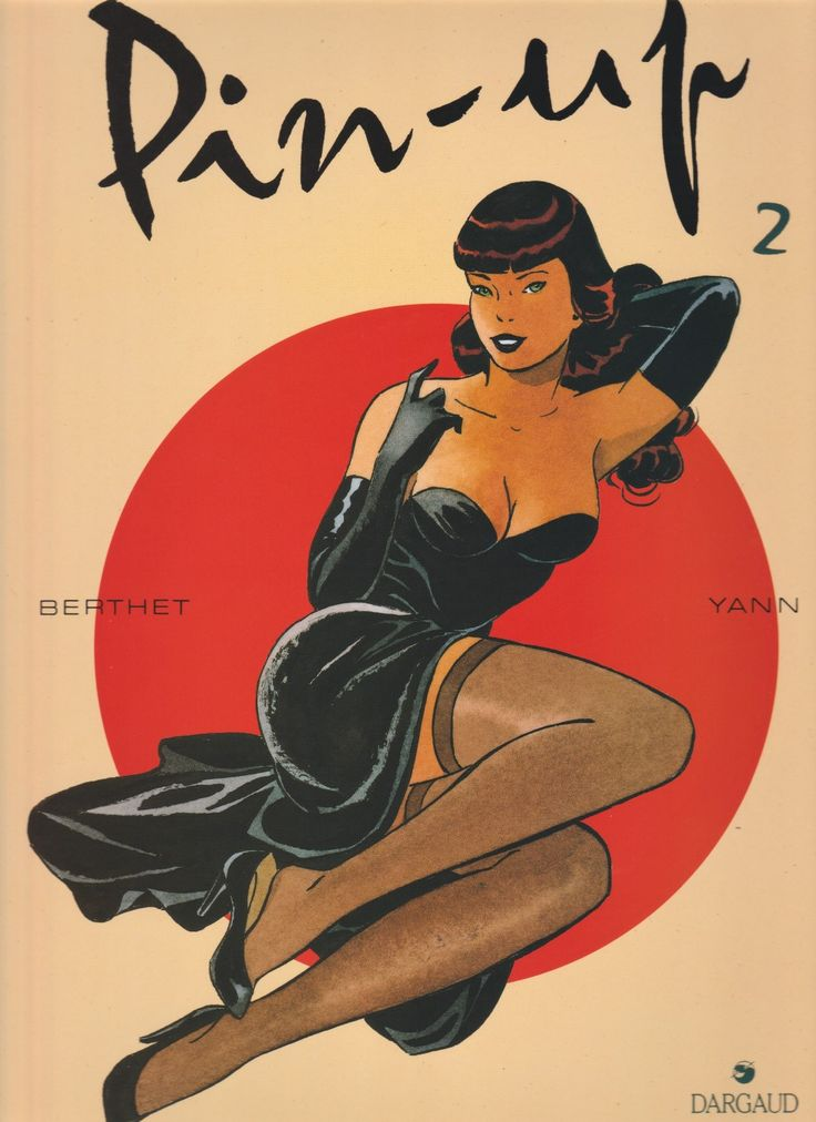 Pin-up 2 - tekenaar: Berthet - tekst: Yann - Dargaud Benelux, 1995