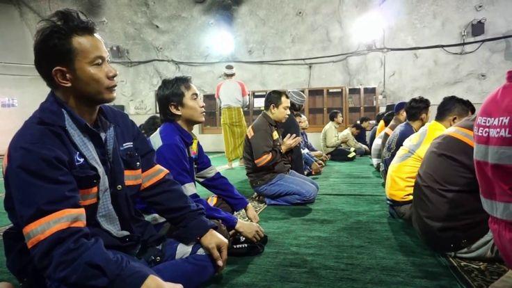 Masjid Baabul Munawar tembagapura papua di Kedalaman 1.760 Meter Perut Bumi Indonesia – info wisata terbaru