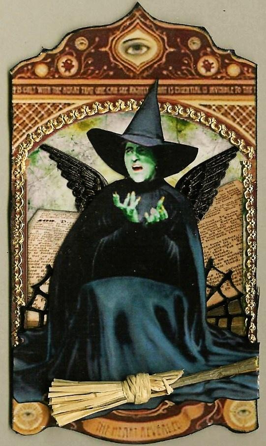 A Nostalgic Halloween: Wizard of OZ ATC by Terri Daugherty  http://anostalgichalloween.blogspot.com/2011/10/wizard-of-oz-atc-by-terri-daugherty.html#