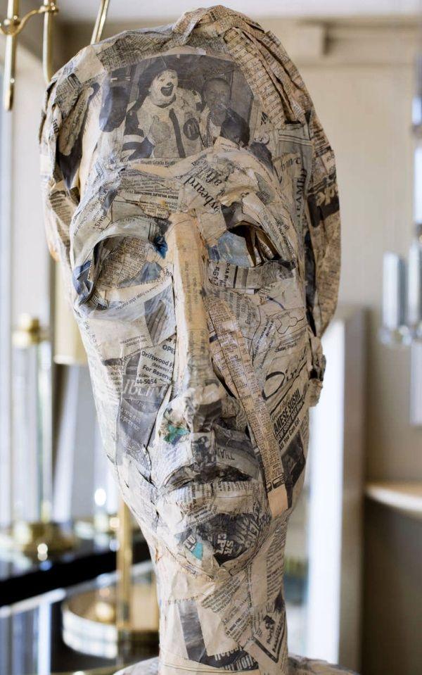 40 SELF-DO Paper Mache Sculpture Art Examples For Beginners