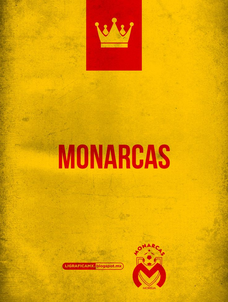 #LigraficaMX #ElFutbolNosInspira #Monarcas #Morelia