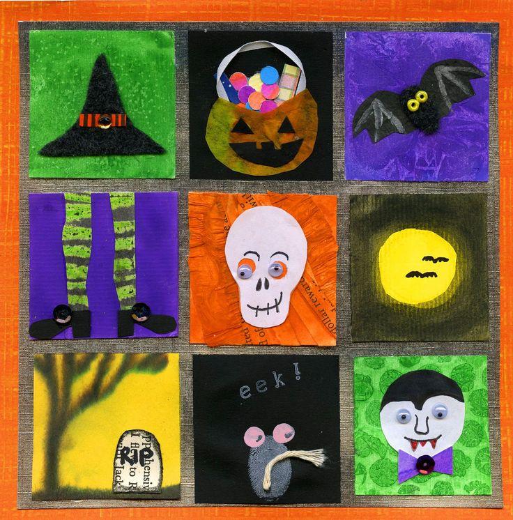 Halloween Inchies 2012 tutorial ... http://www.thatartistwoman.org/2012/10/halloween-inchies-2012.html#