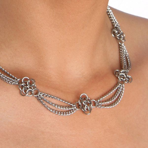 rapt in maille handmade chainmaille jewelry by melissa