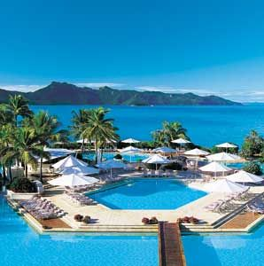 Hayman (Great Barrier Reef): Ranked No. 7 on Travel + Leisure's annual World's Best Awards list of Top Resorts in Australia, New Zealand, and the South Pacific!