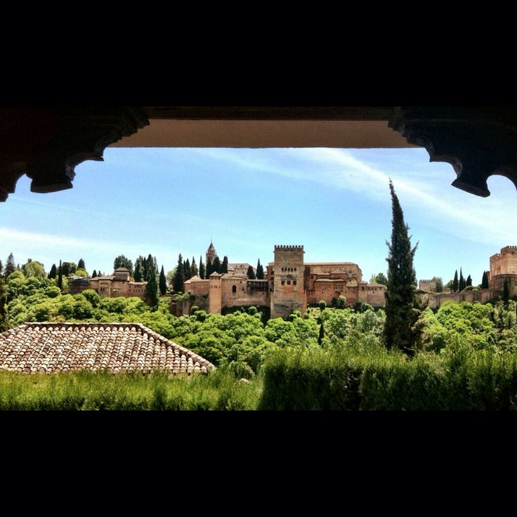 Views from the balcony at the Mirador de Morayma.  Great views and money worthy views. #alhambra #granada #spain