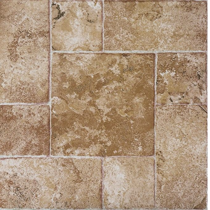 Vinyl Floor Tiles Country Door In 2020 Tile Floor Vinyl Flooring Self Adhesive Vinyl Tiles