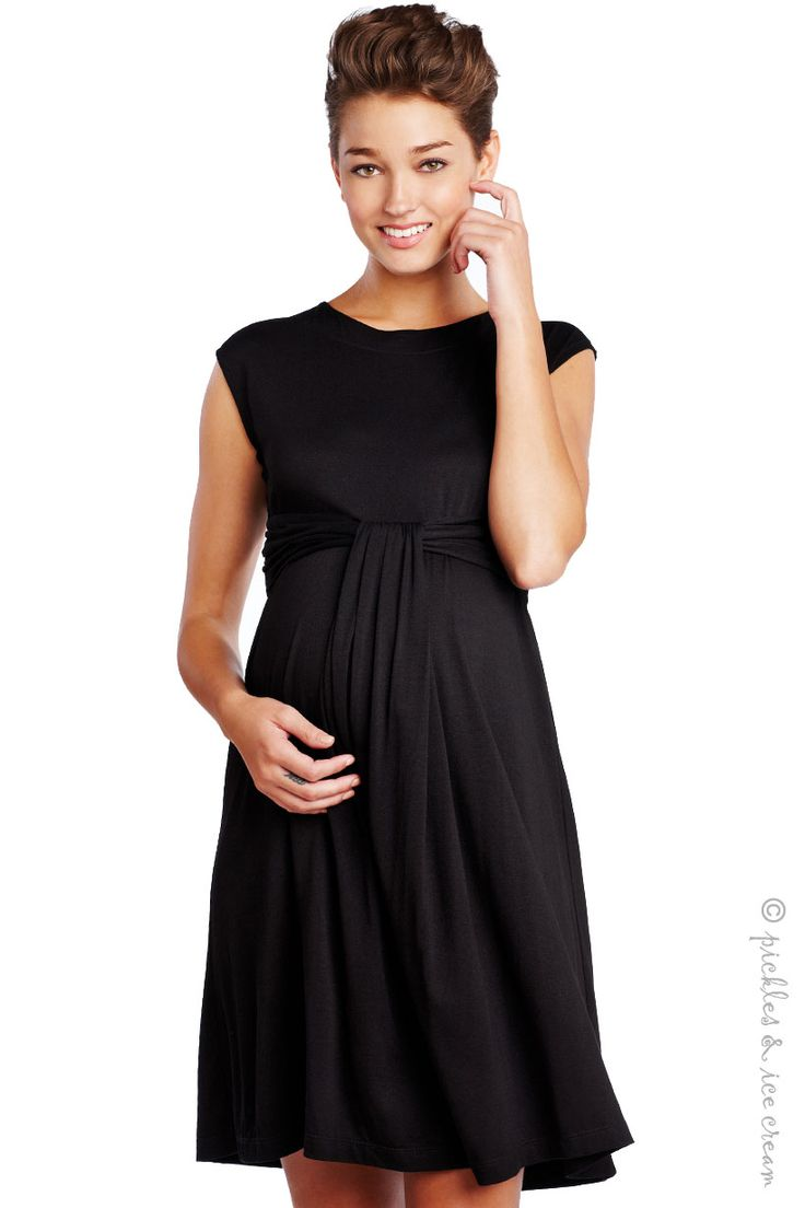 Maternal America Empire Dress - perfect for work, casual, or anywhere dress. [ NineAndAHalfMonths.com ] #mother #maternity #pregnancy