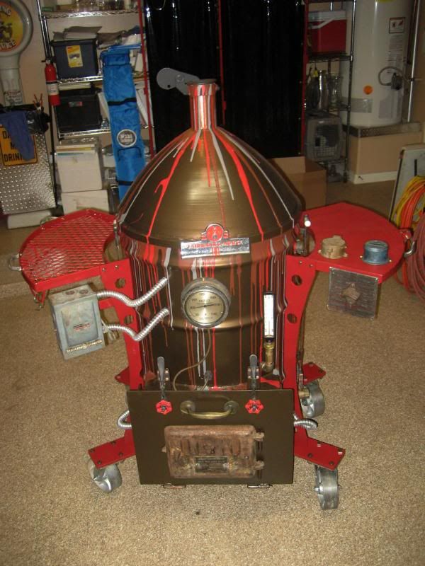 steampunk inspired ugly drum smoker uds pinterest drums smokers and steampunk. Black Bedroom Furniture Sets. Home Design Ideas